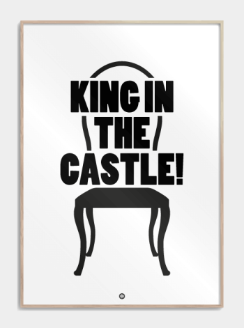 borat funny poster king in the castle