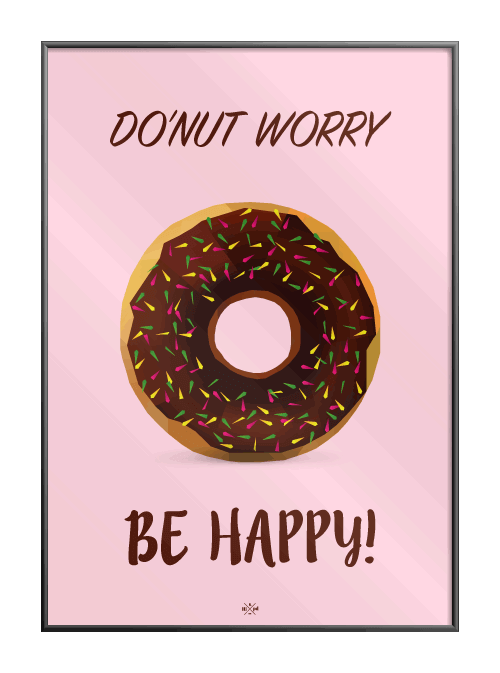 Do'nut worry be happy
