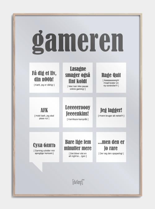 Gameren plakat