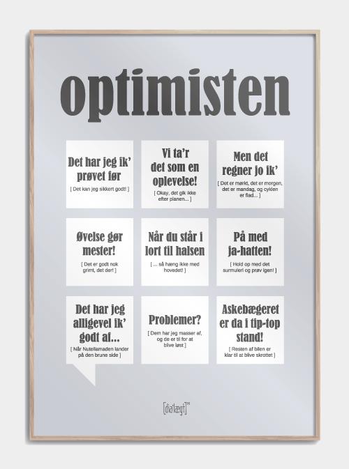 Optimisten plakat