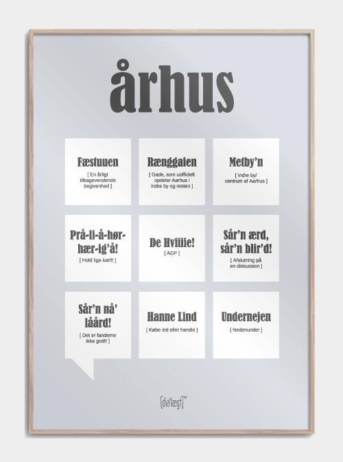 Image of   Århus plakat