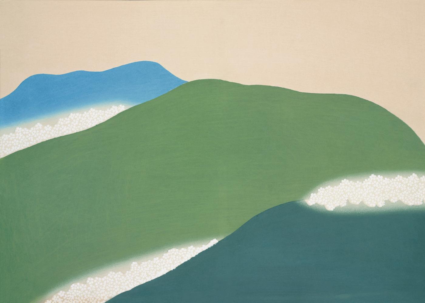 Billede af Landscape - Japansk kunstplakat