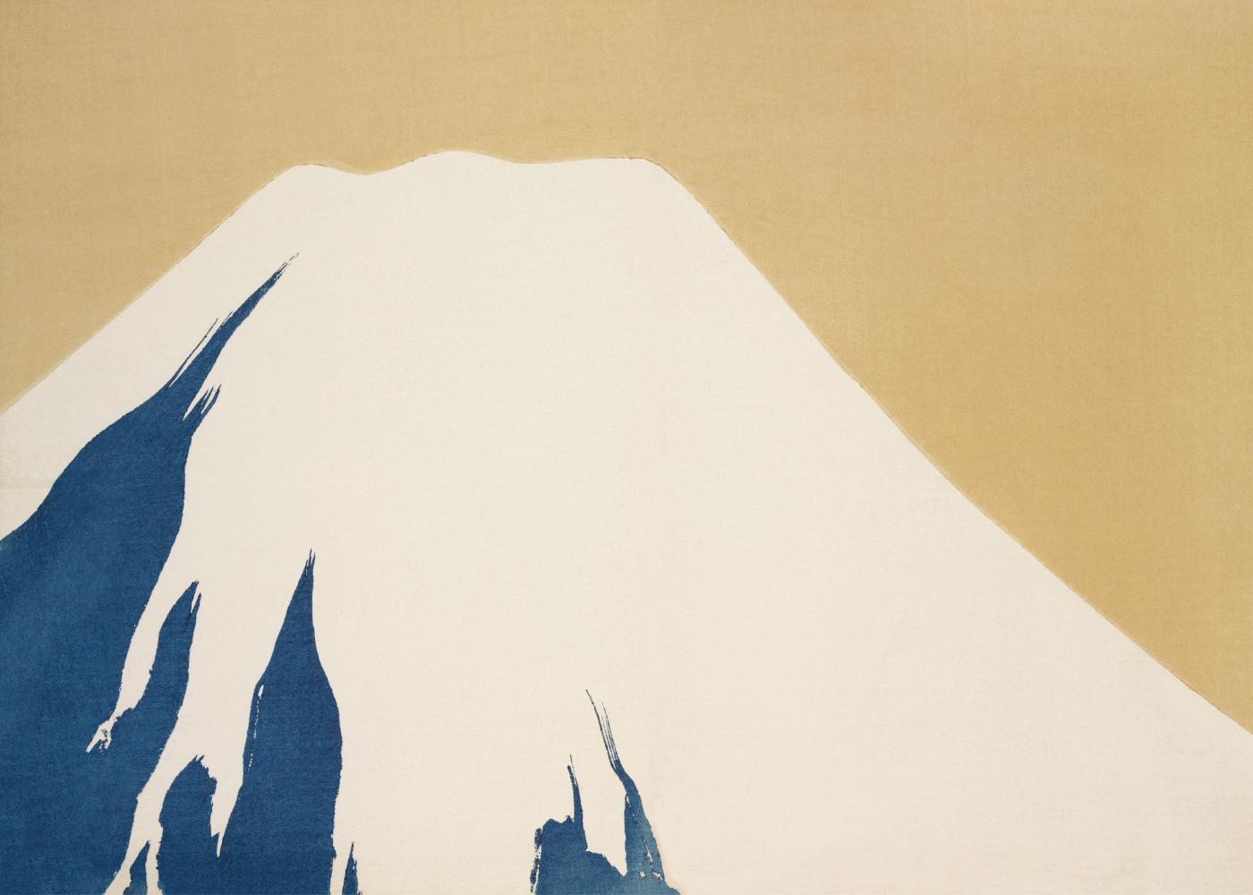 Billede af Mountain - Japansk kunstplakat