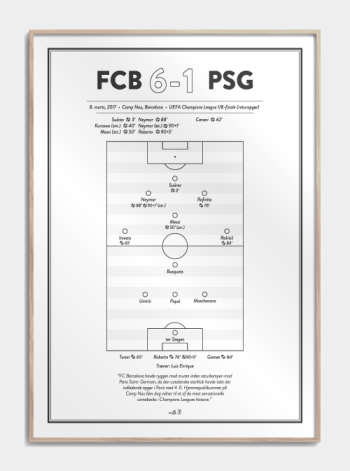 fodbold plakat