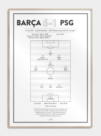 FC Barcelona fan plakat