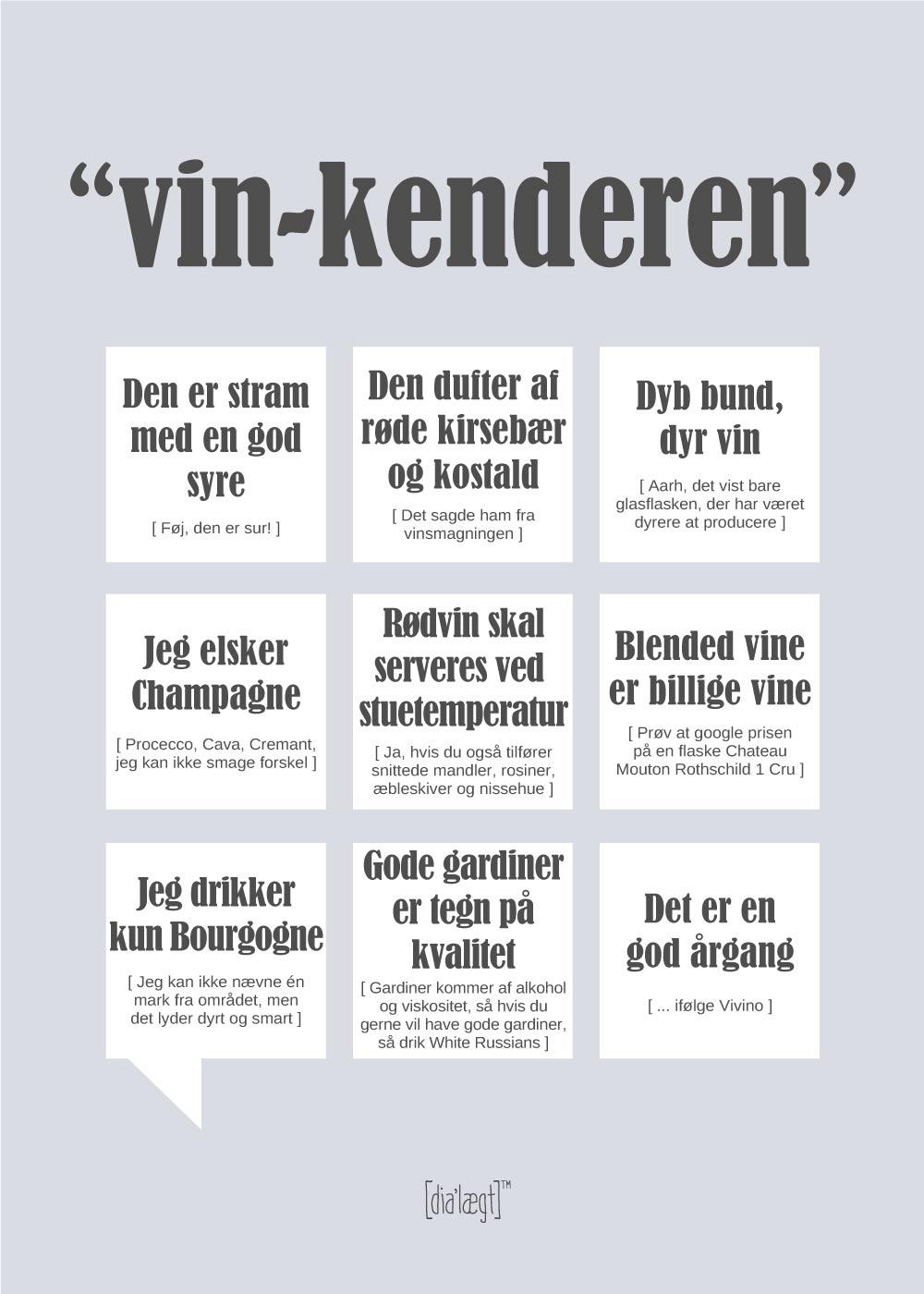 Vin-kenderen plakat