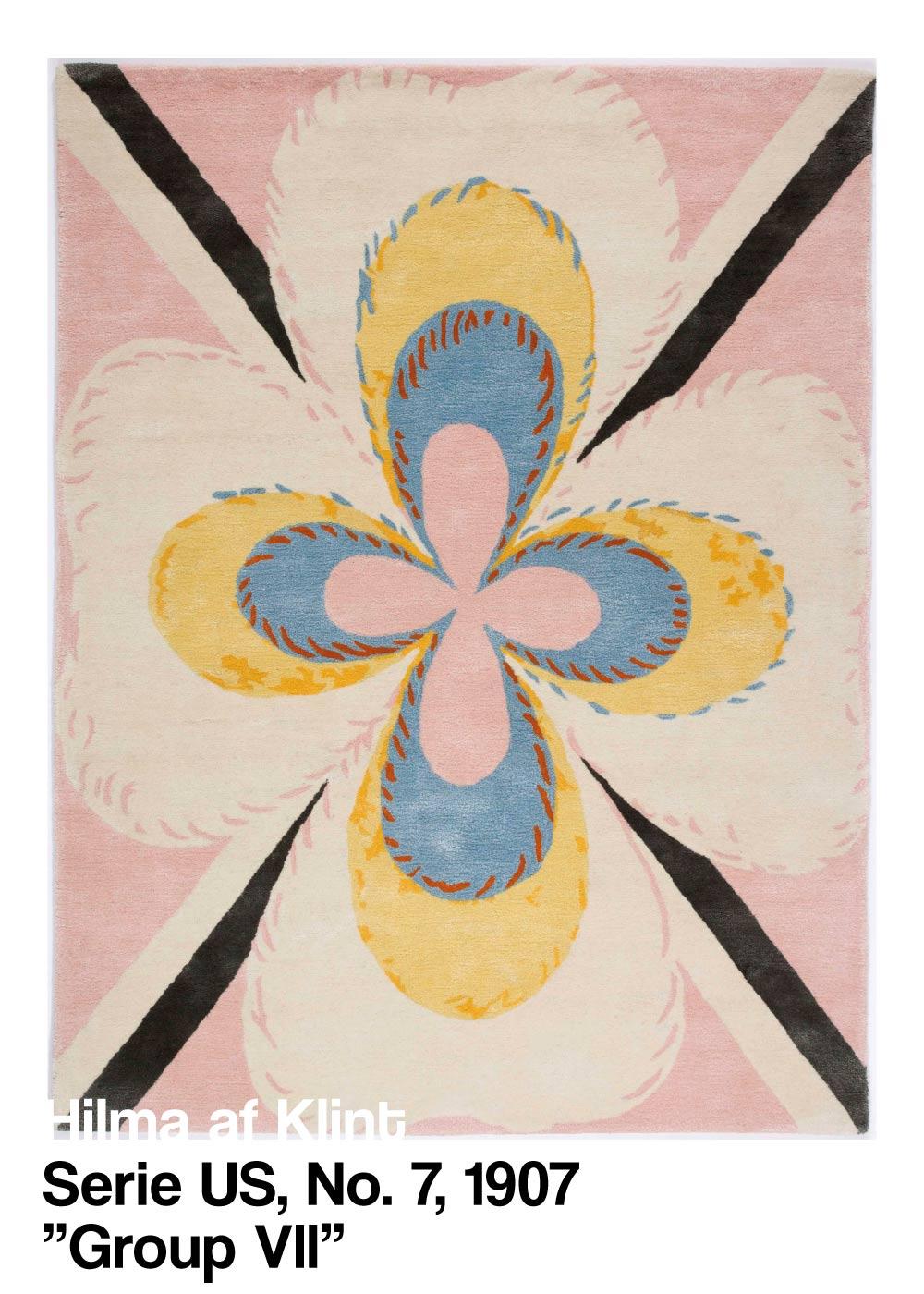 Serie US No. 7 - Hilma af Klint kunstplakat