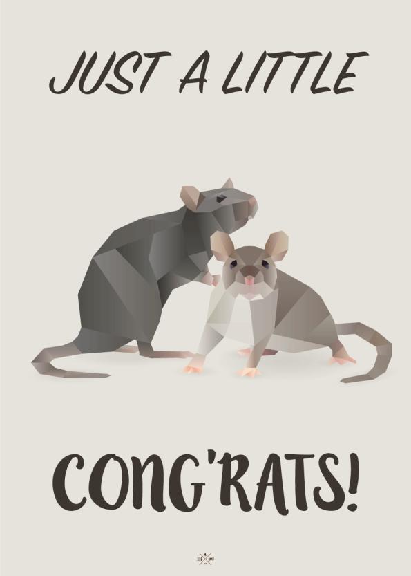 Just a little congrats