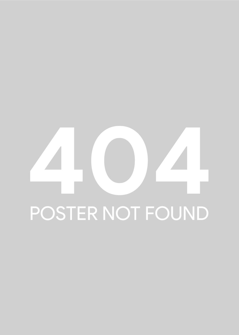Billede af 404 poster not found plakat