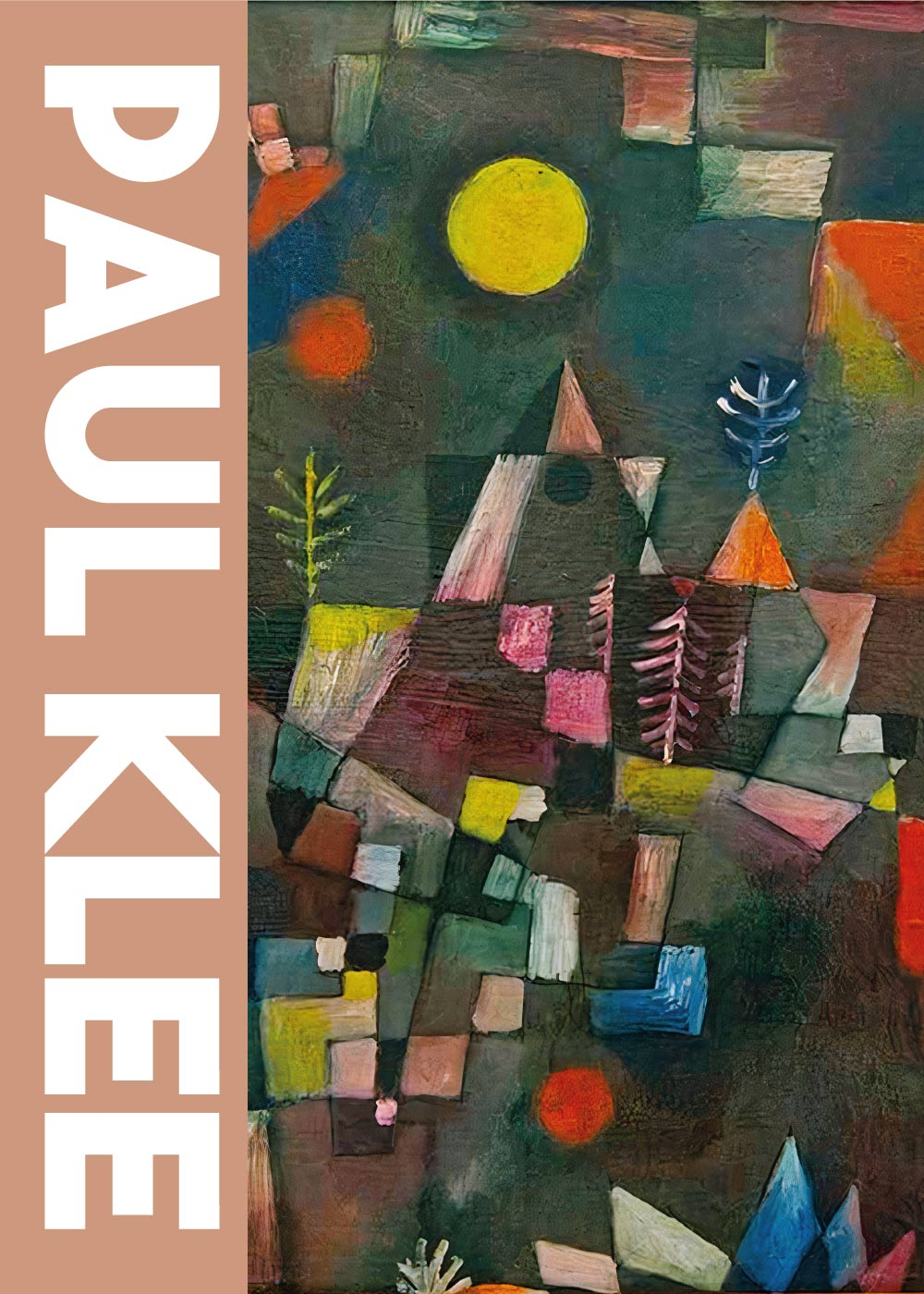 Billede af Full moon - Paul Klee Kunstplakat