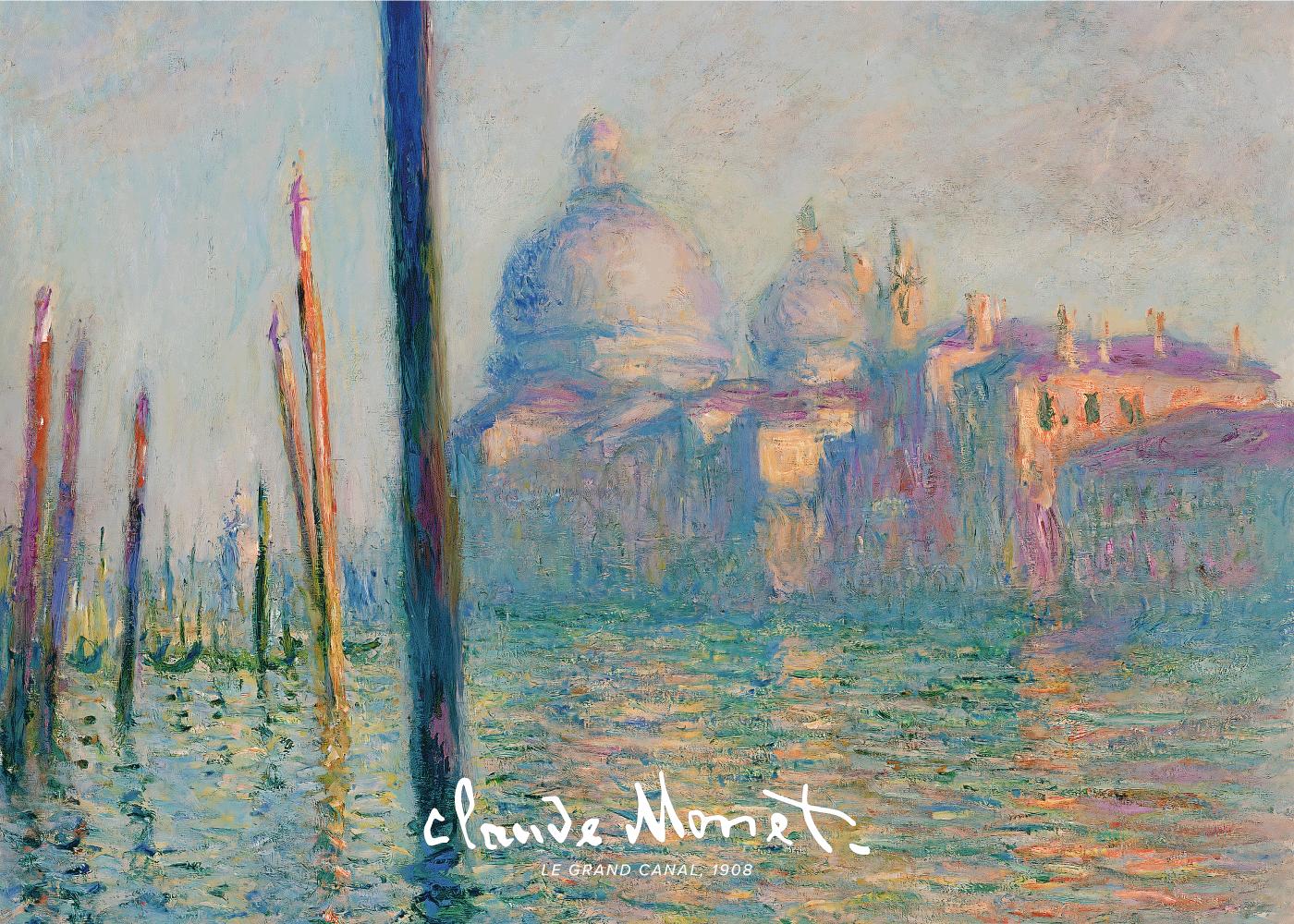 Billede af Grand Canal - Claude Monet