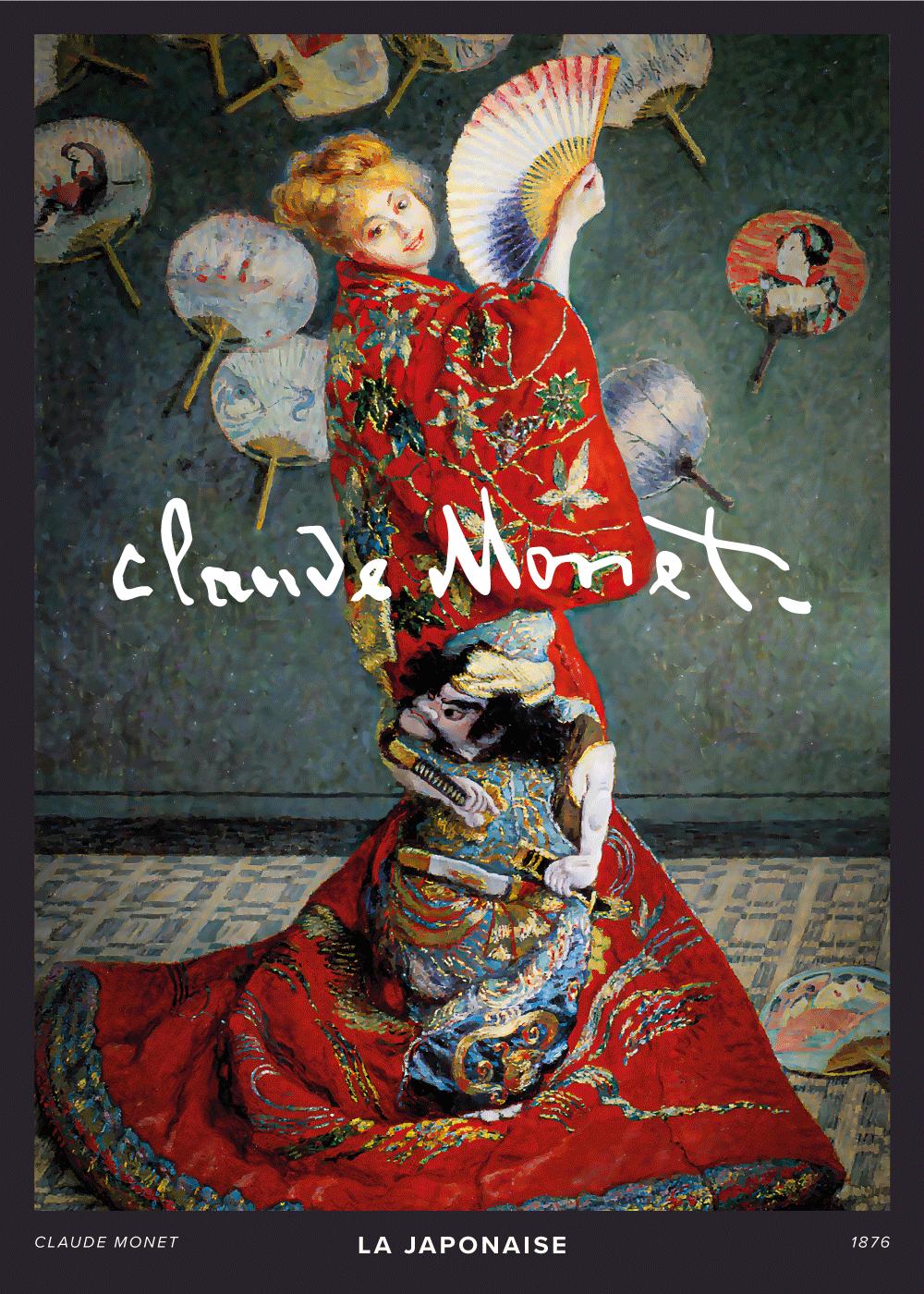 Billede af La Japonaise - Claude Monet