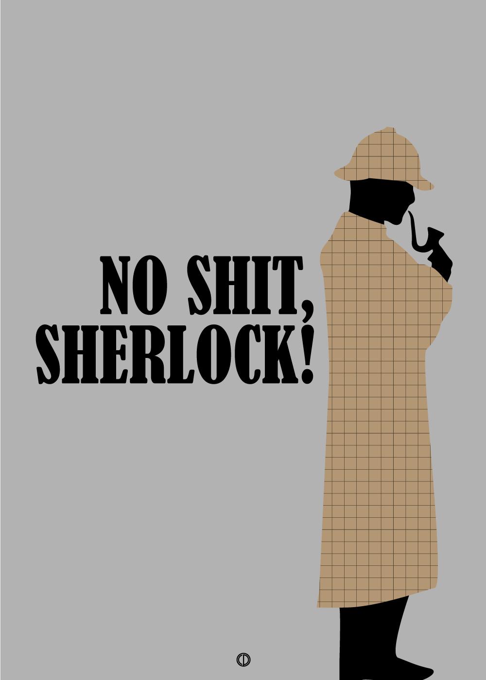Køb No shit, Sherlock