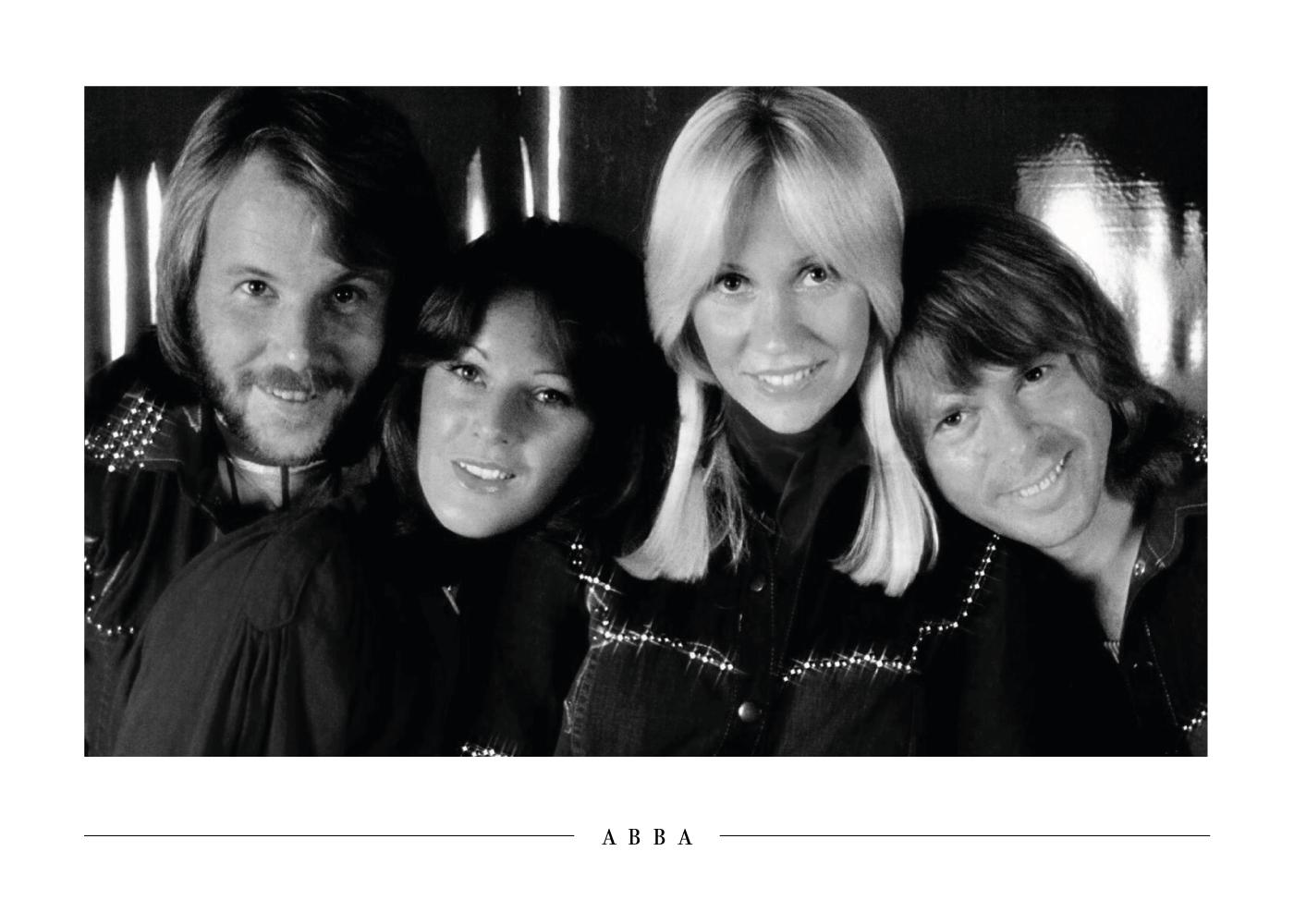 Billede af ABBA - Plakat