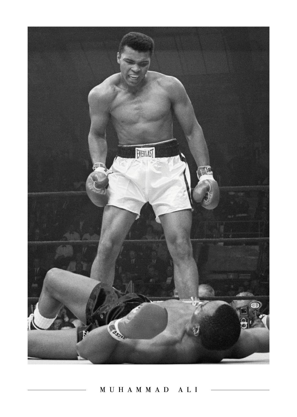 Billede af Muhammad Ali - Plakat