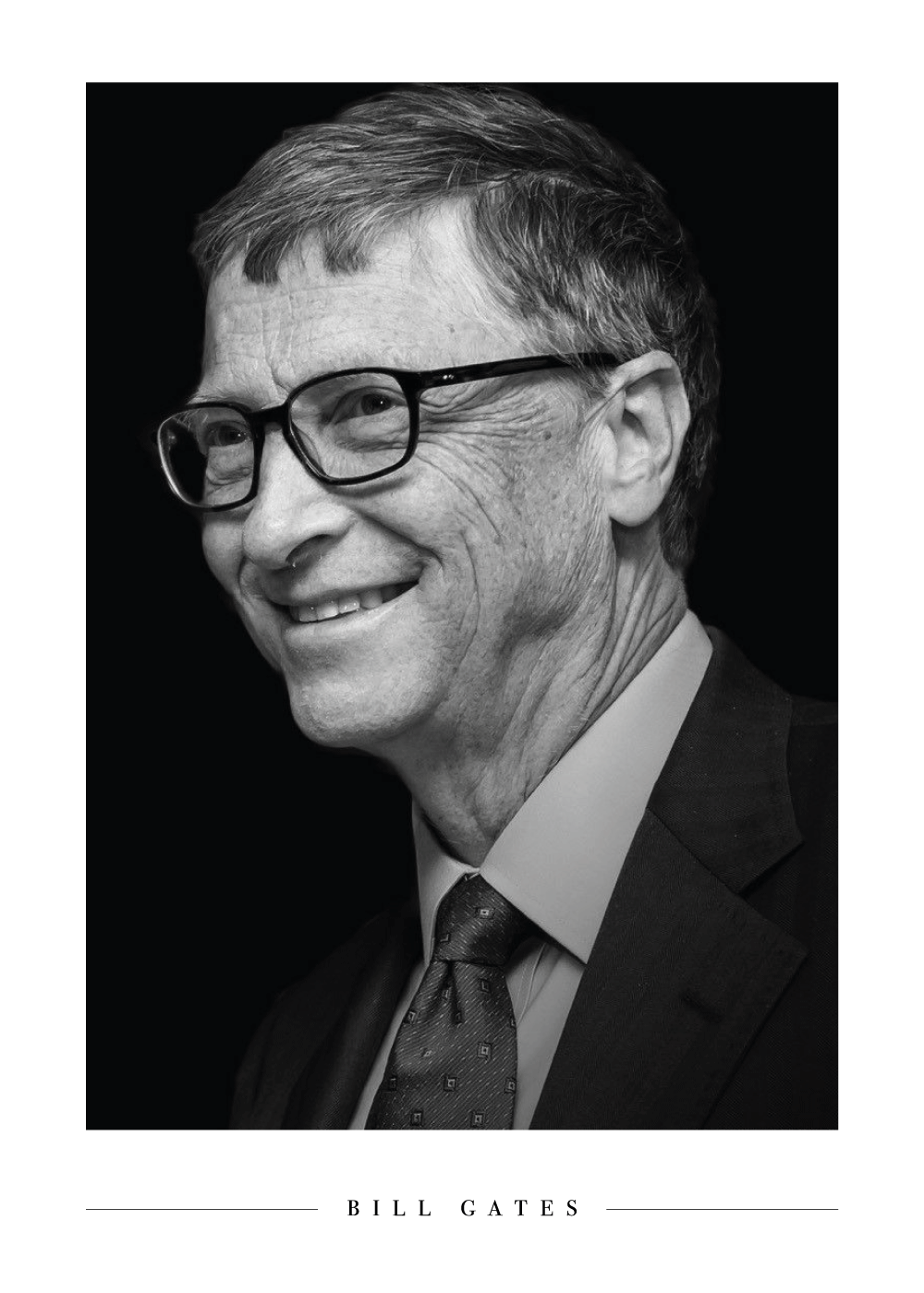 Bill Gates - Plakat