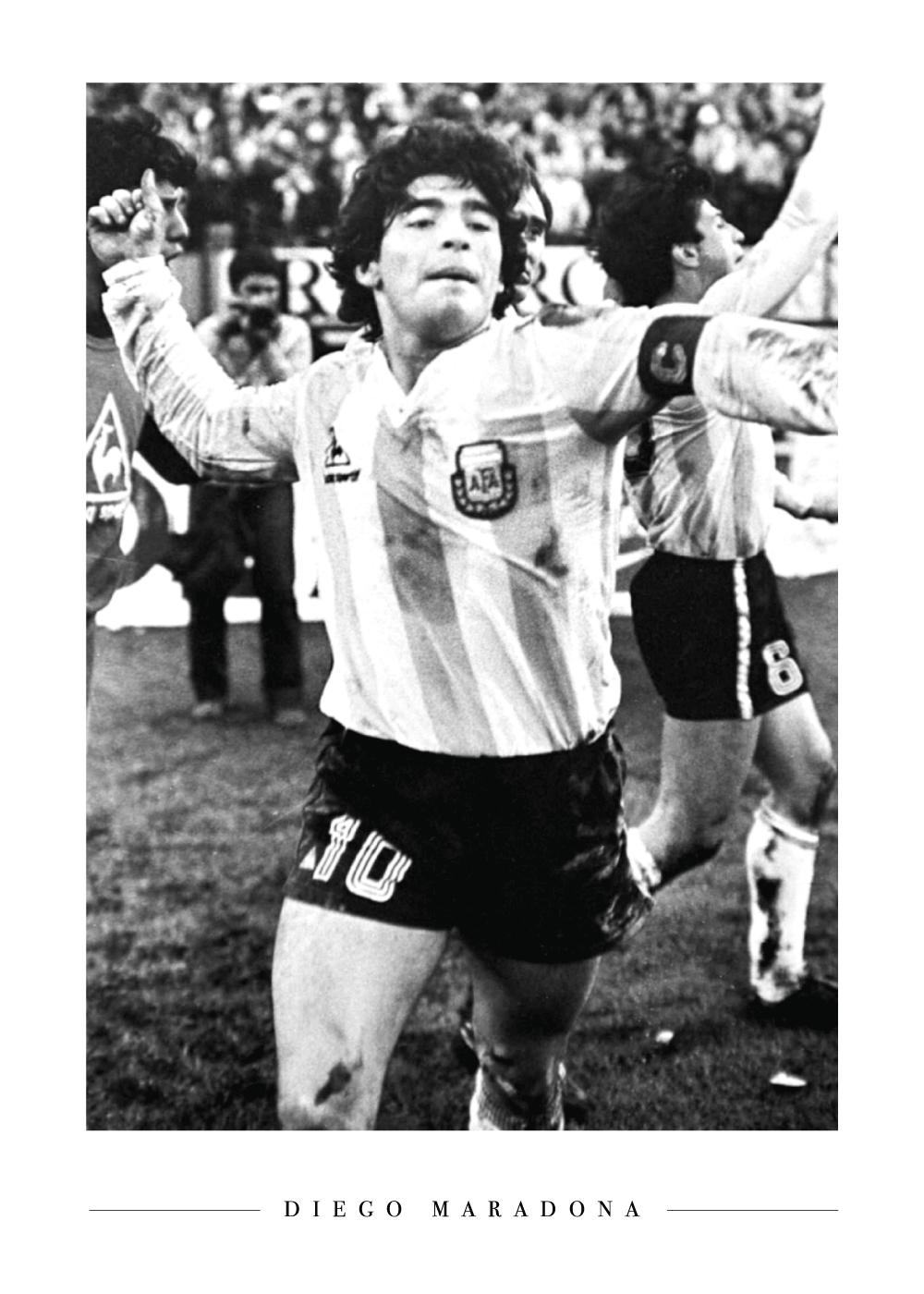 Diego Maradona - Plakat