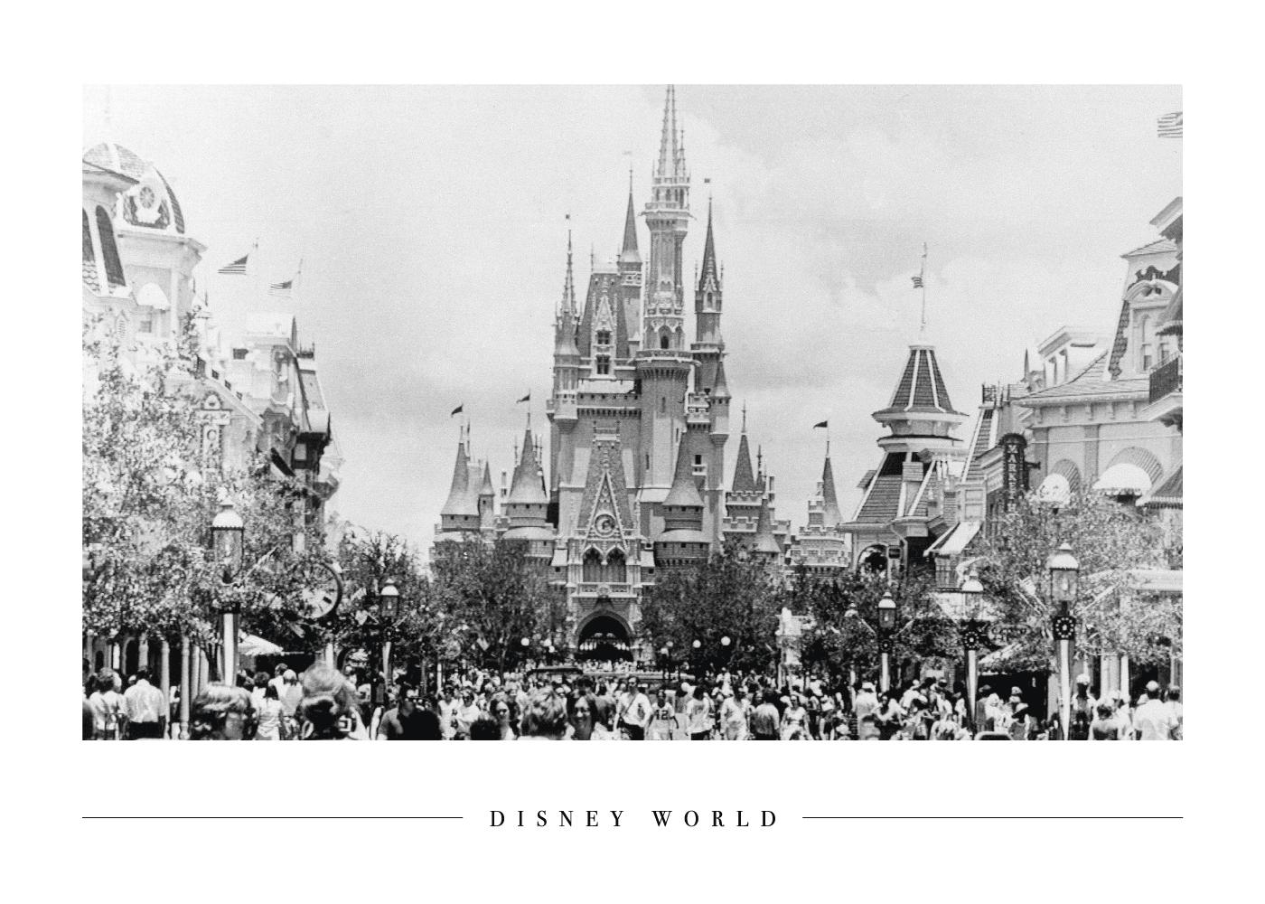 Billede af Disney World - Plakat