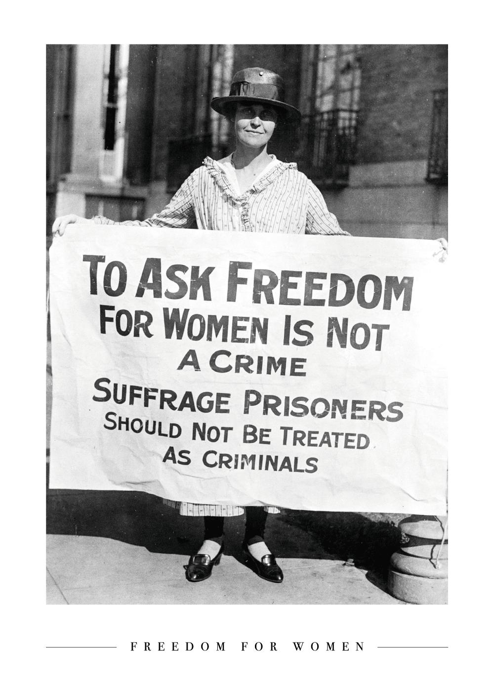 Billede af Freedom for Women - Plakat