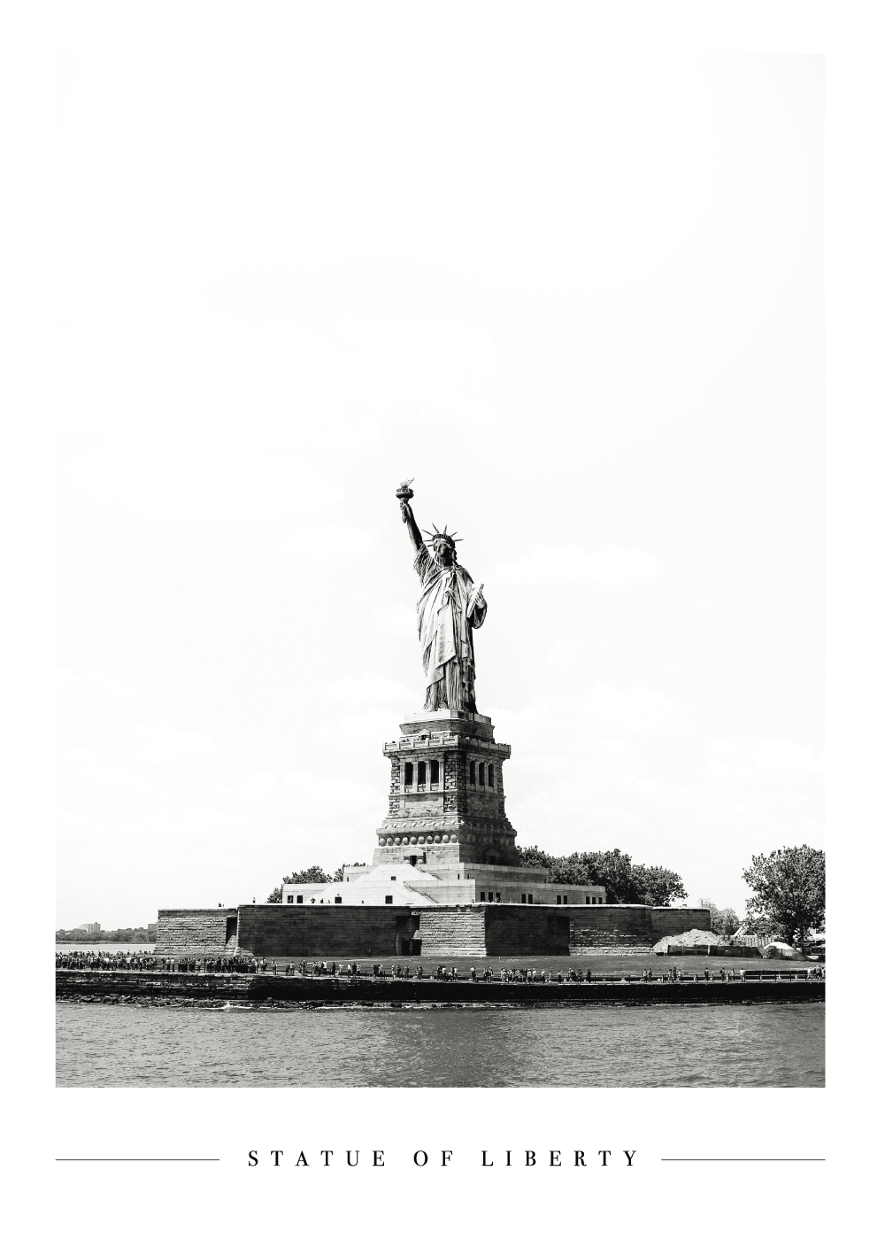 The Statue of Liberty - Plakat