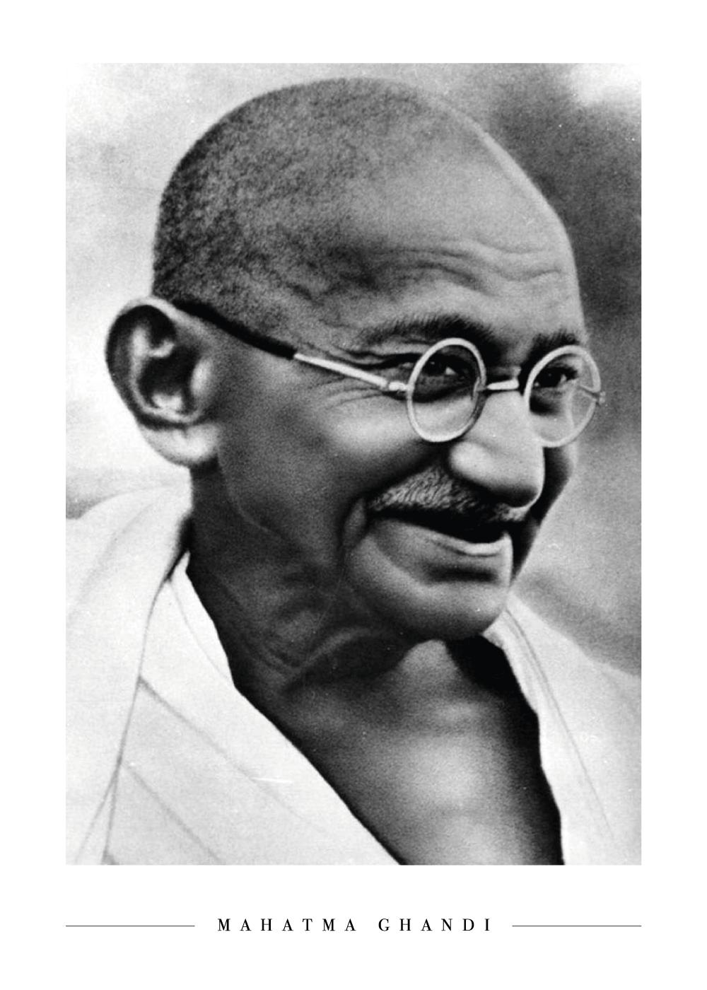 Ghandi - Plakat