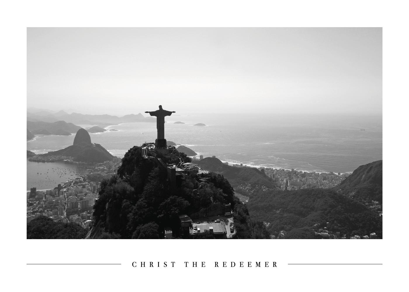 Billede af Christ the Redeemer - Plakat