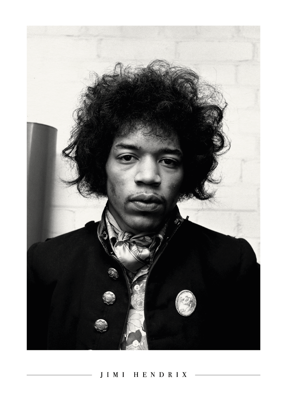 Young Jimi Hendrix - Plakat