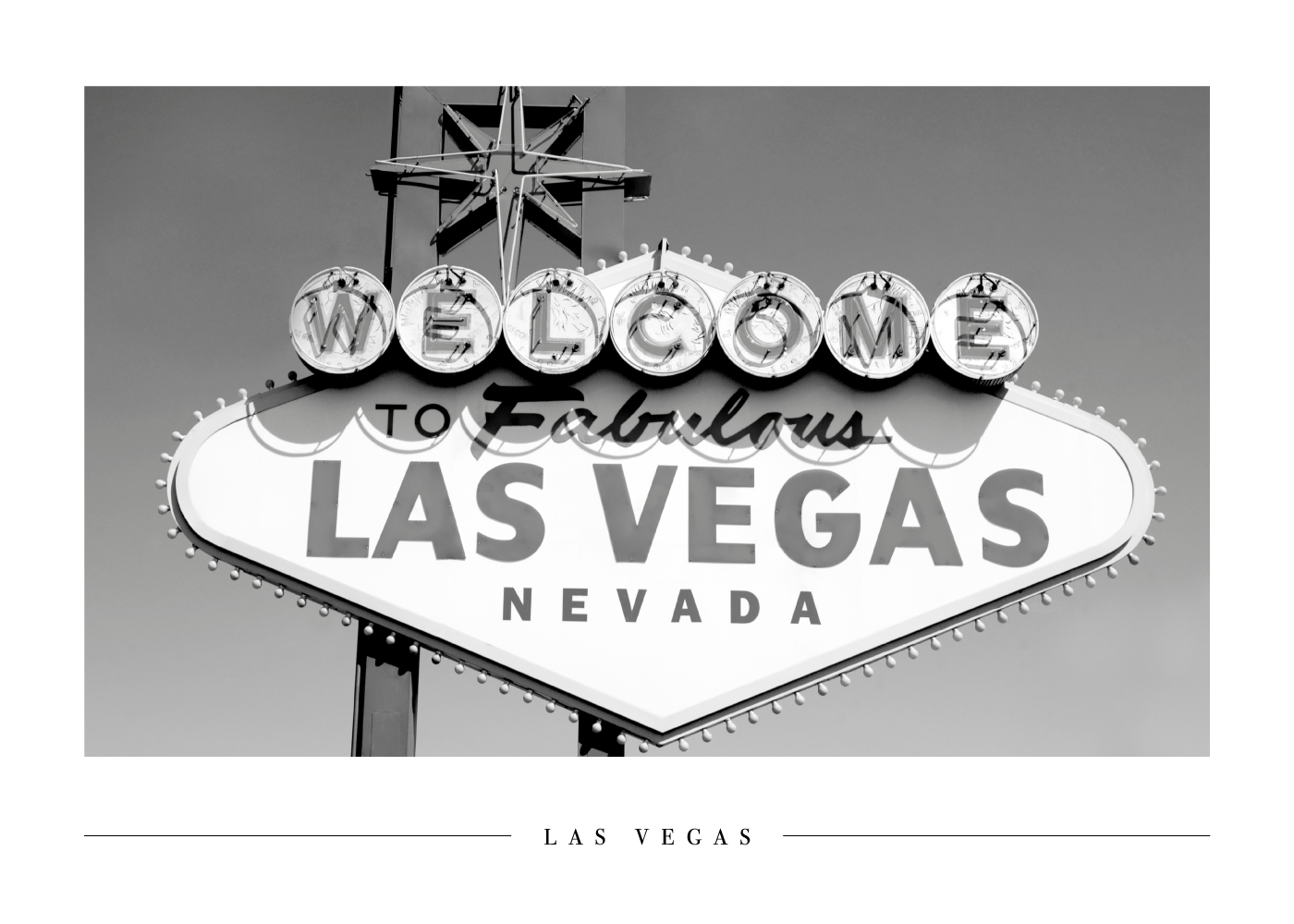 Welcome to Las Vegas - Plakat