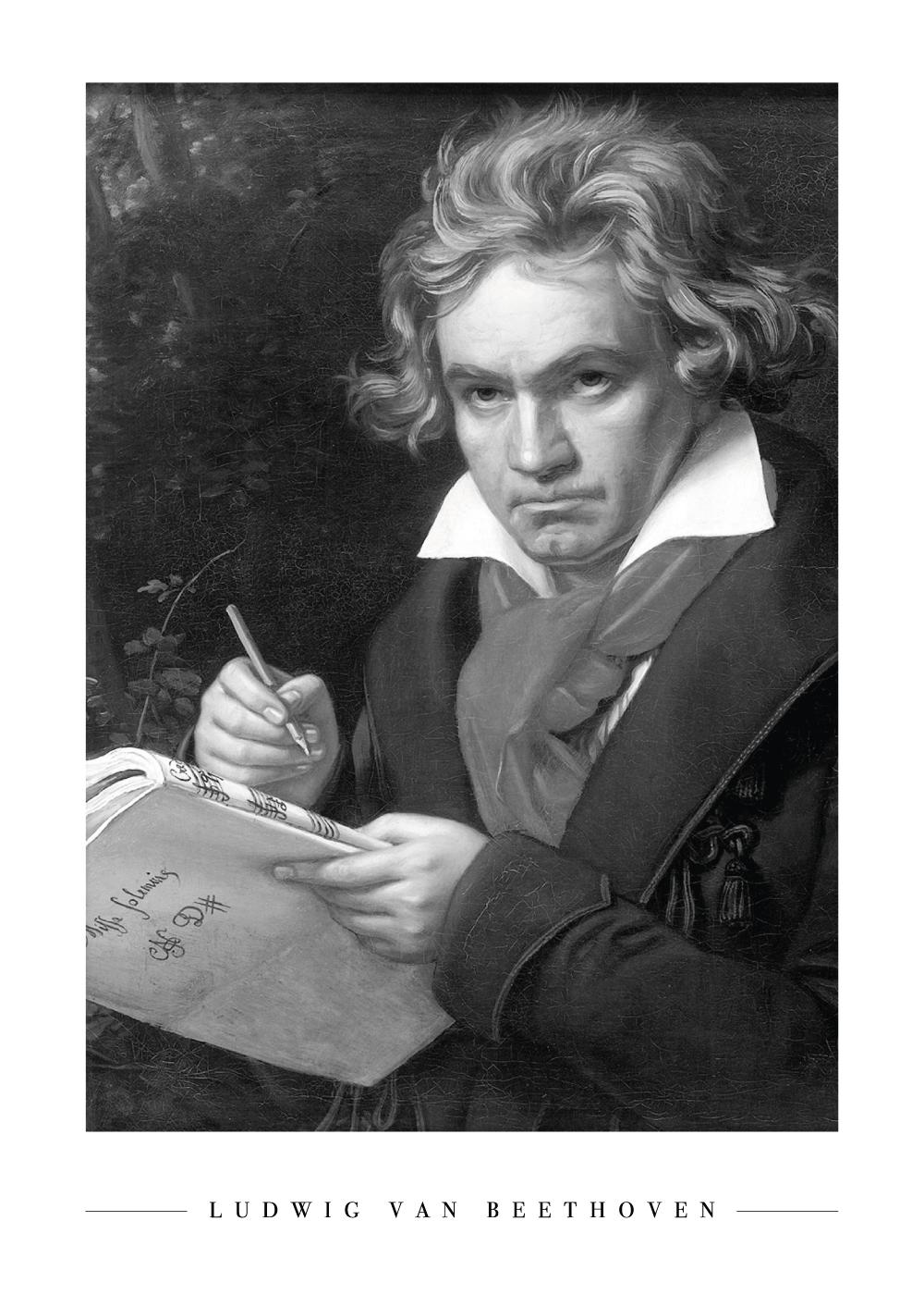 Ludwig van Beethoven - Plakat