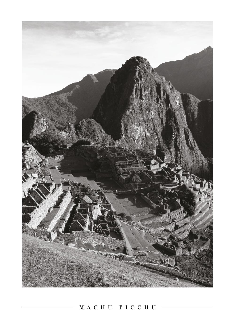 Machu Picchu - Plakat
