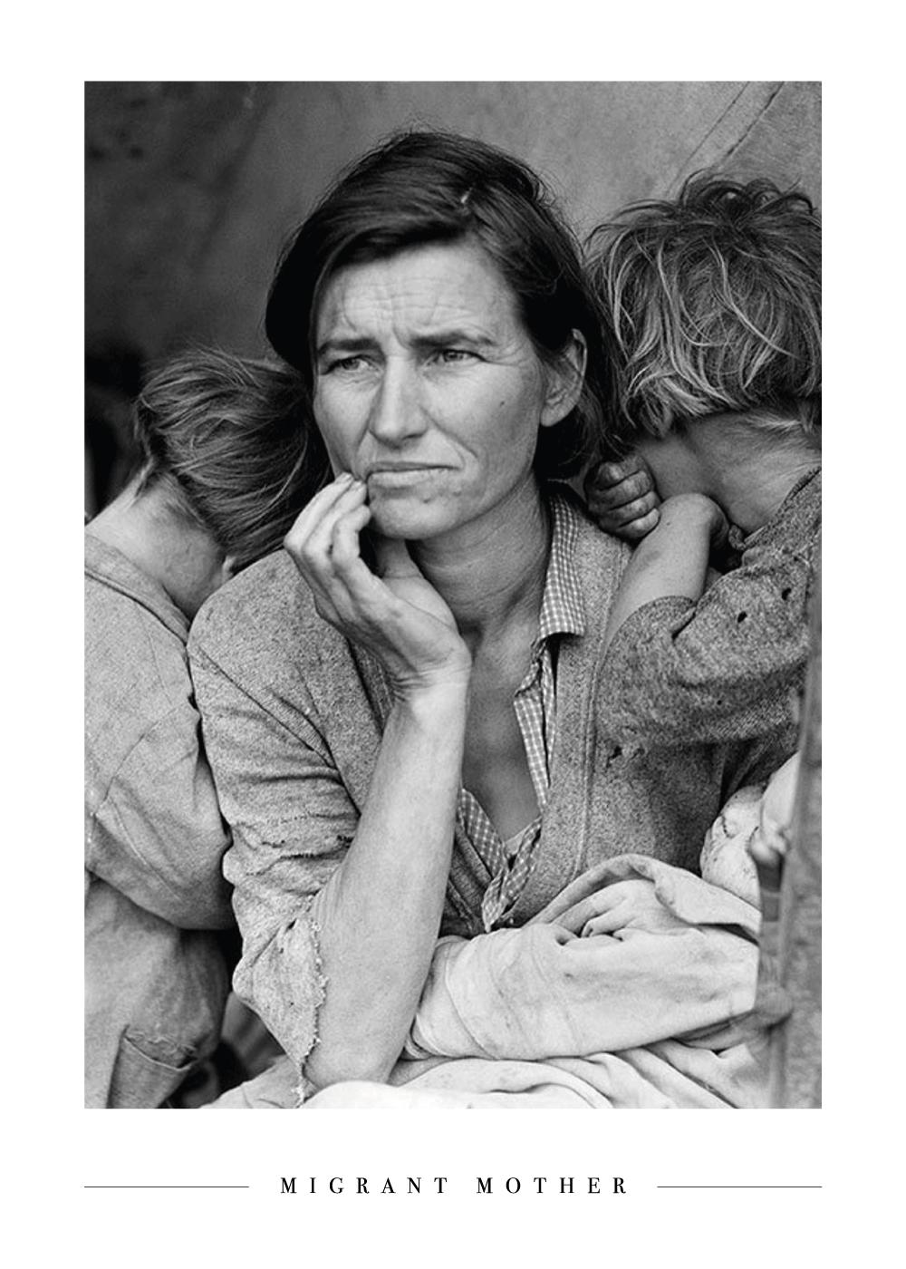 Billede af Migrant Mother - Plakat