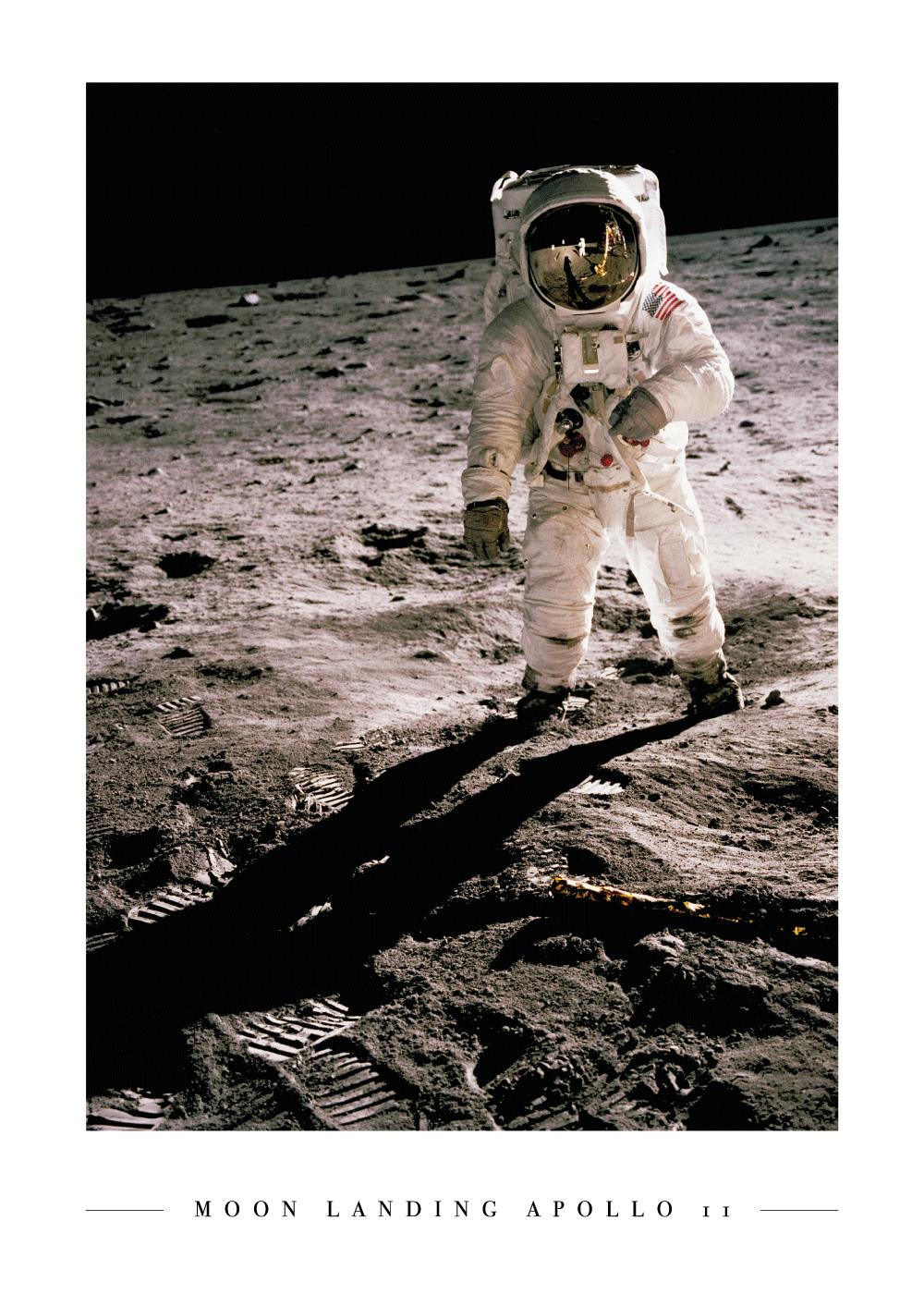 Billede af Moon landing Apollo 11 - Plakat