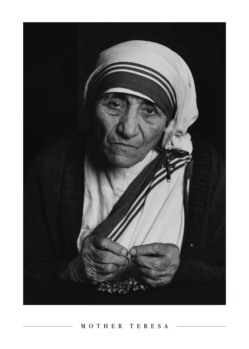 Mother Teresa - Plakat