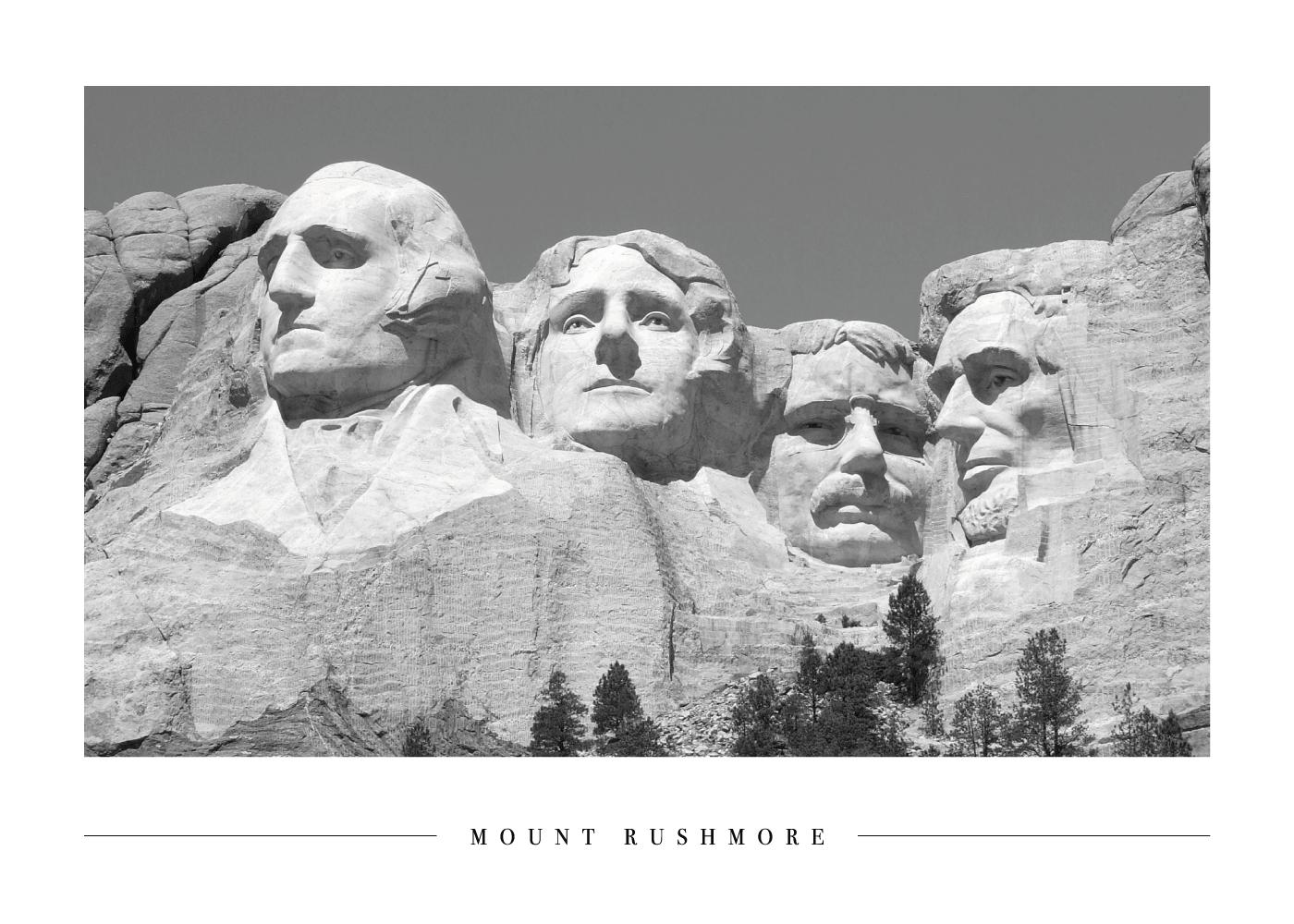 Mount Rushmore - Plakat
