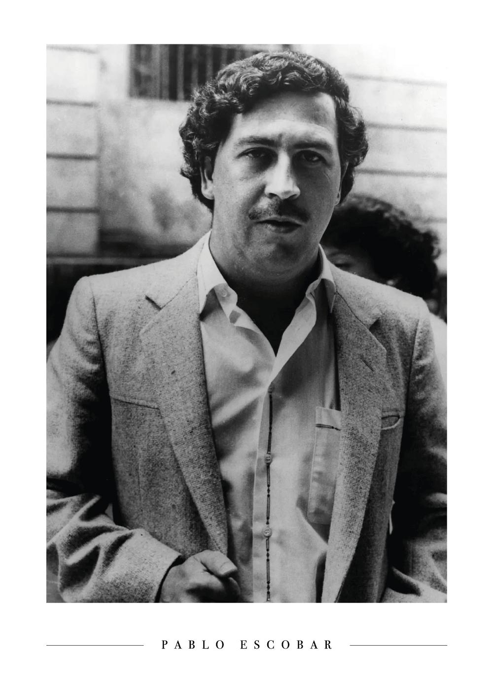 Billede af Pablo Escobar - Plakat