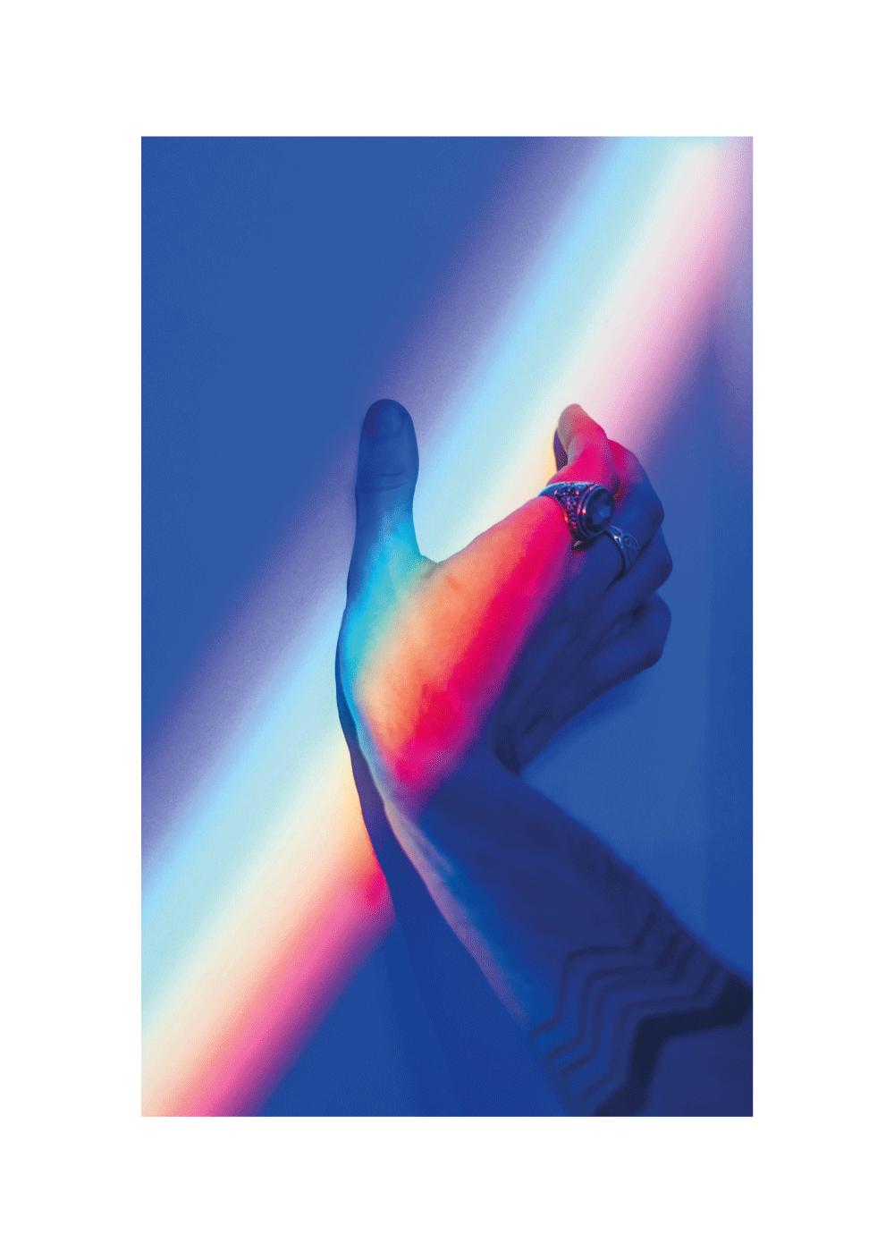Billede af Pride light - LGBT plakat