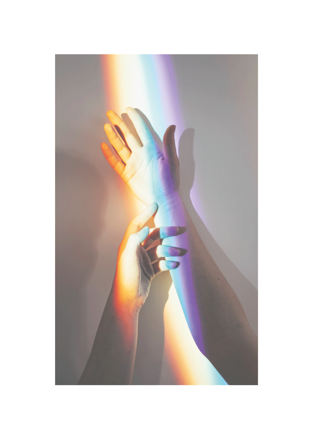 Reaching for the rainbow - LGBT plakat