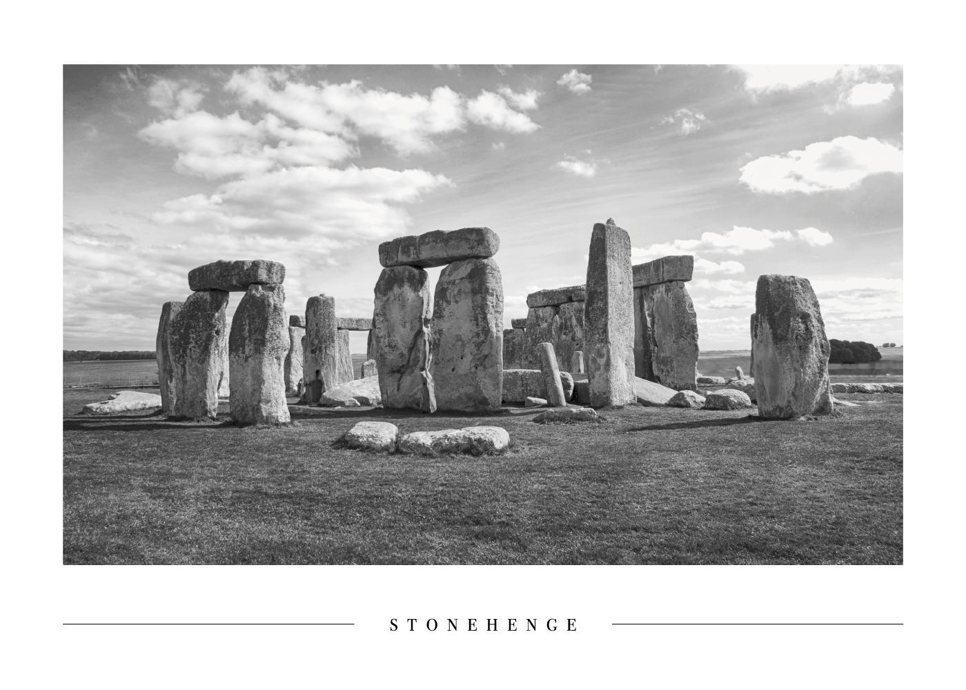 Stonehenge - Plakat