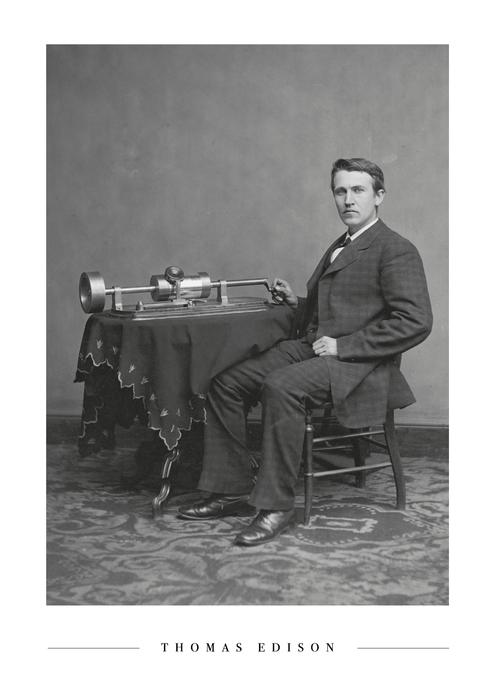 Thomas Edison - Plakat