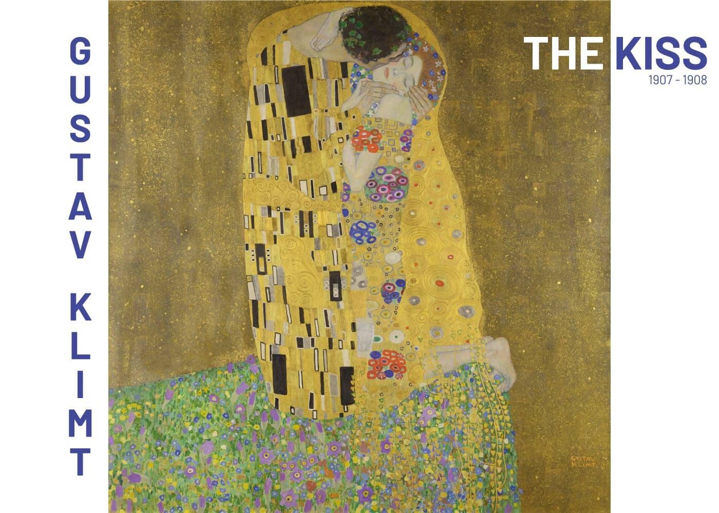 Billede af The Kiss - Gustav Klimt