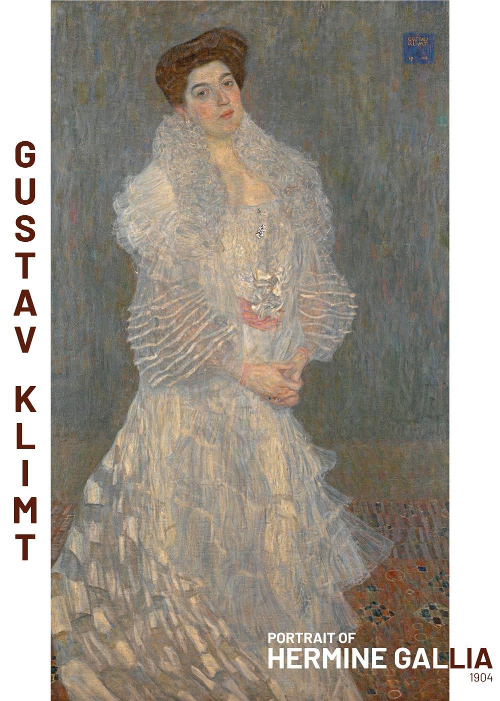 Billede af Hermaine Gallia - Gustav Klimt