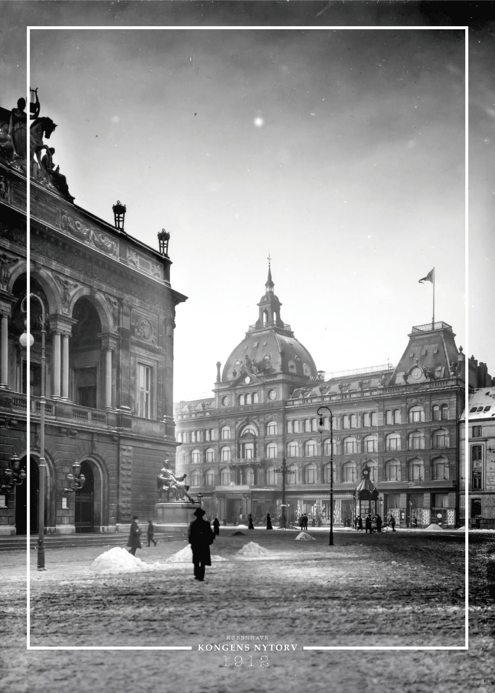 Køb Magasin & Teatret – Gamle billeder af København plakat