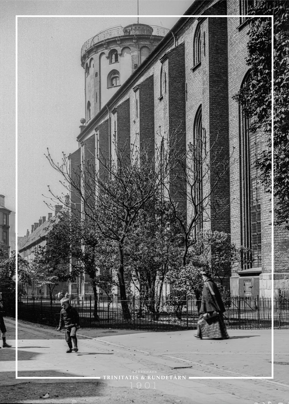 Køb Trinitatis & Rundetårn – Gamle billeder af København plakat