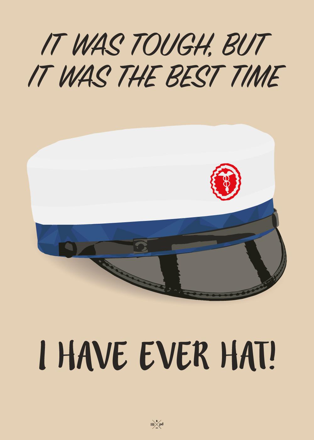 Billede af Studenter plakat - The best time i have ever hat