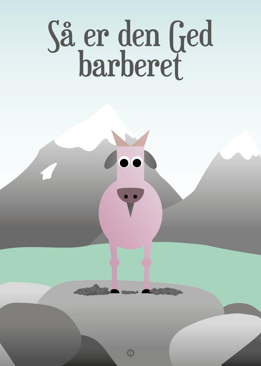 Køb SÃ¥ er den ged barberet