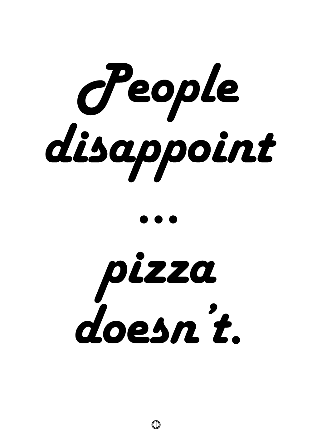 Billede af People disappoint