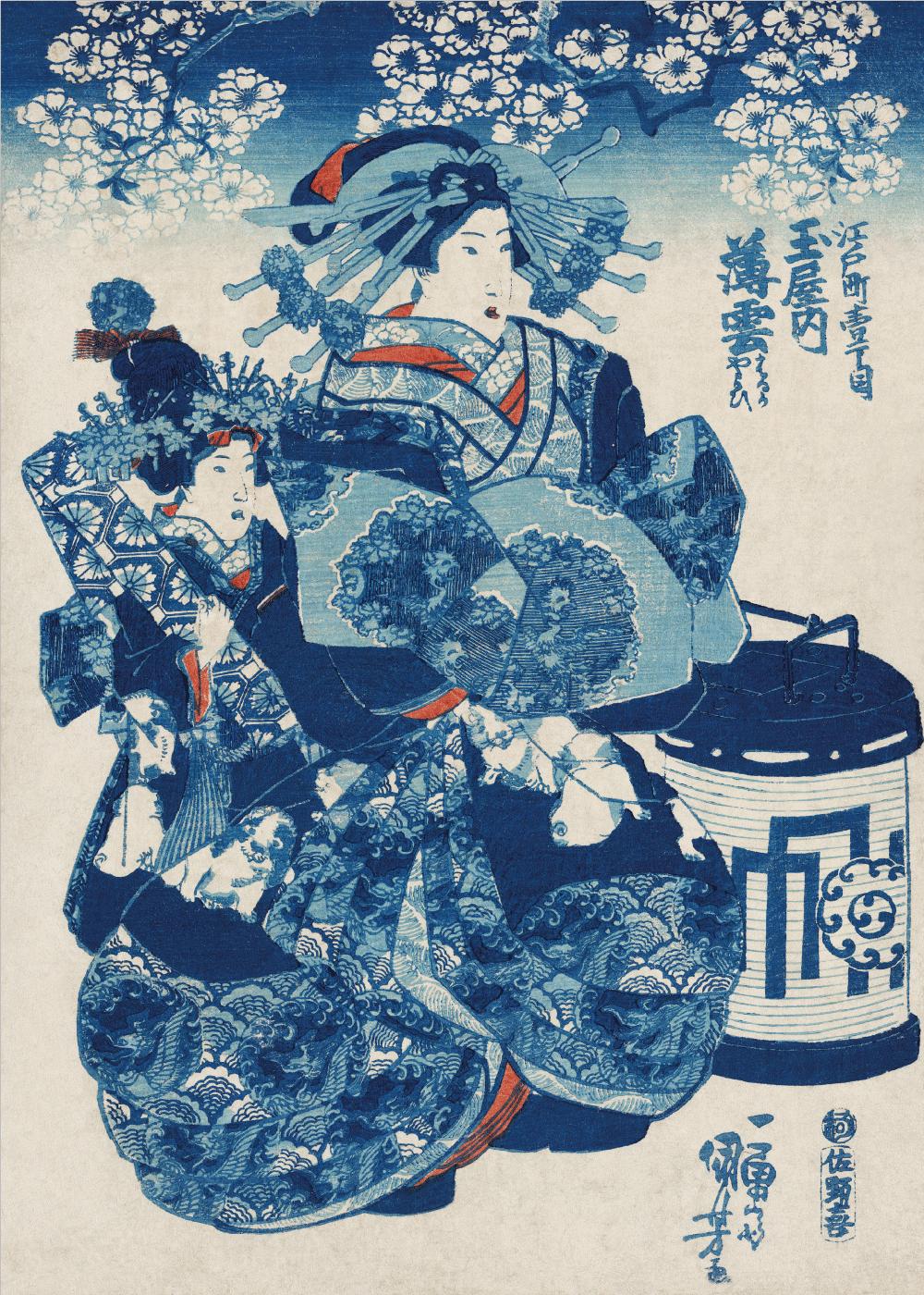 Billede af Japanese women - Japansk kunstplakat