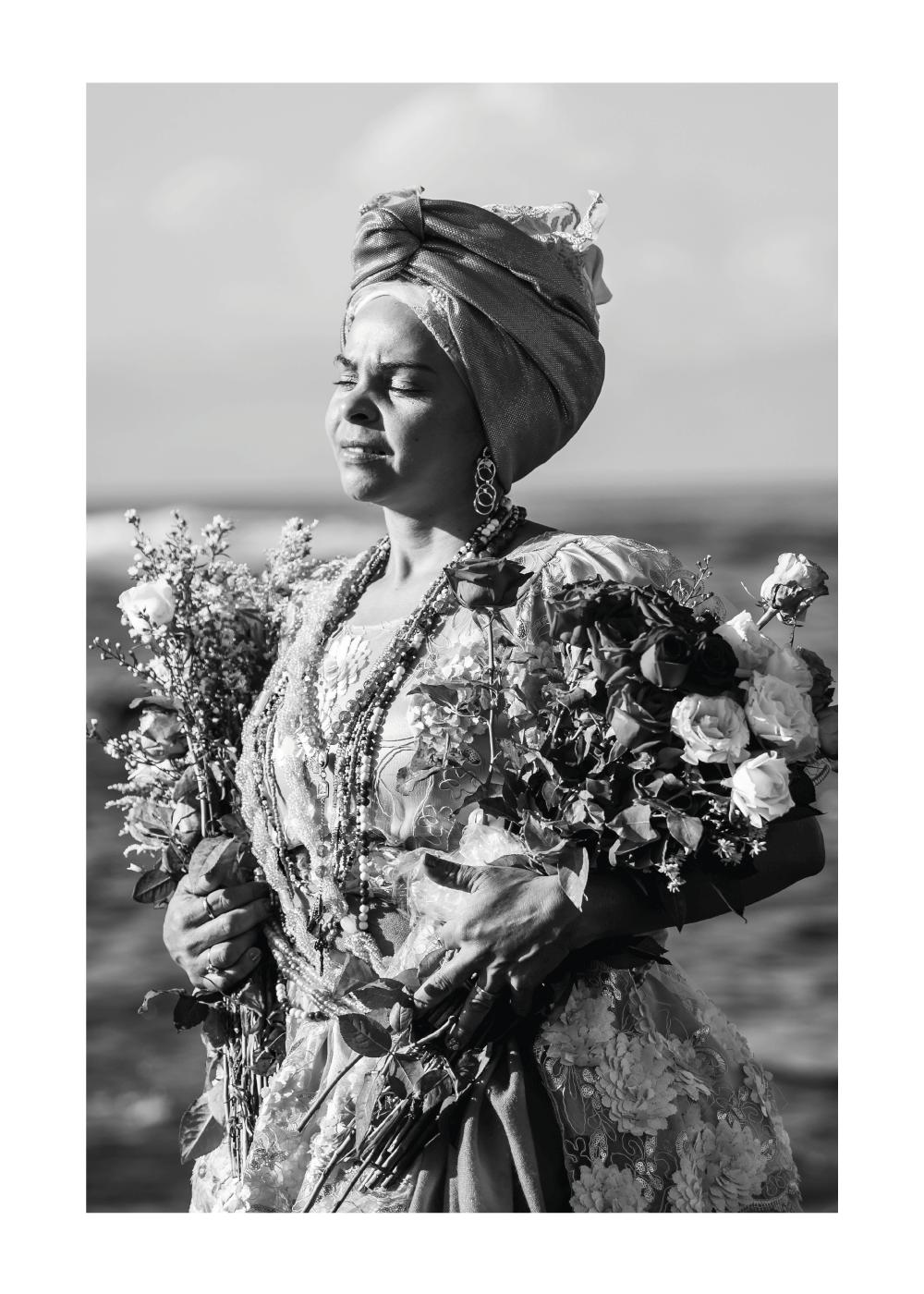 Billede af Flower woman plakat