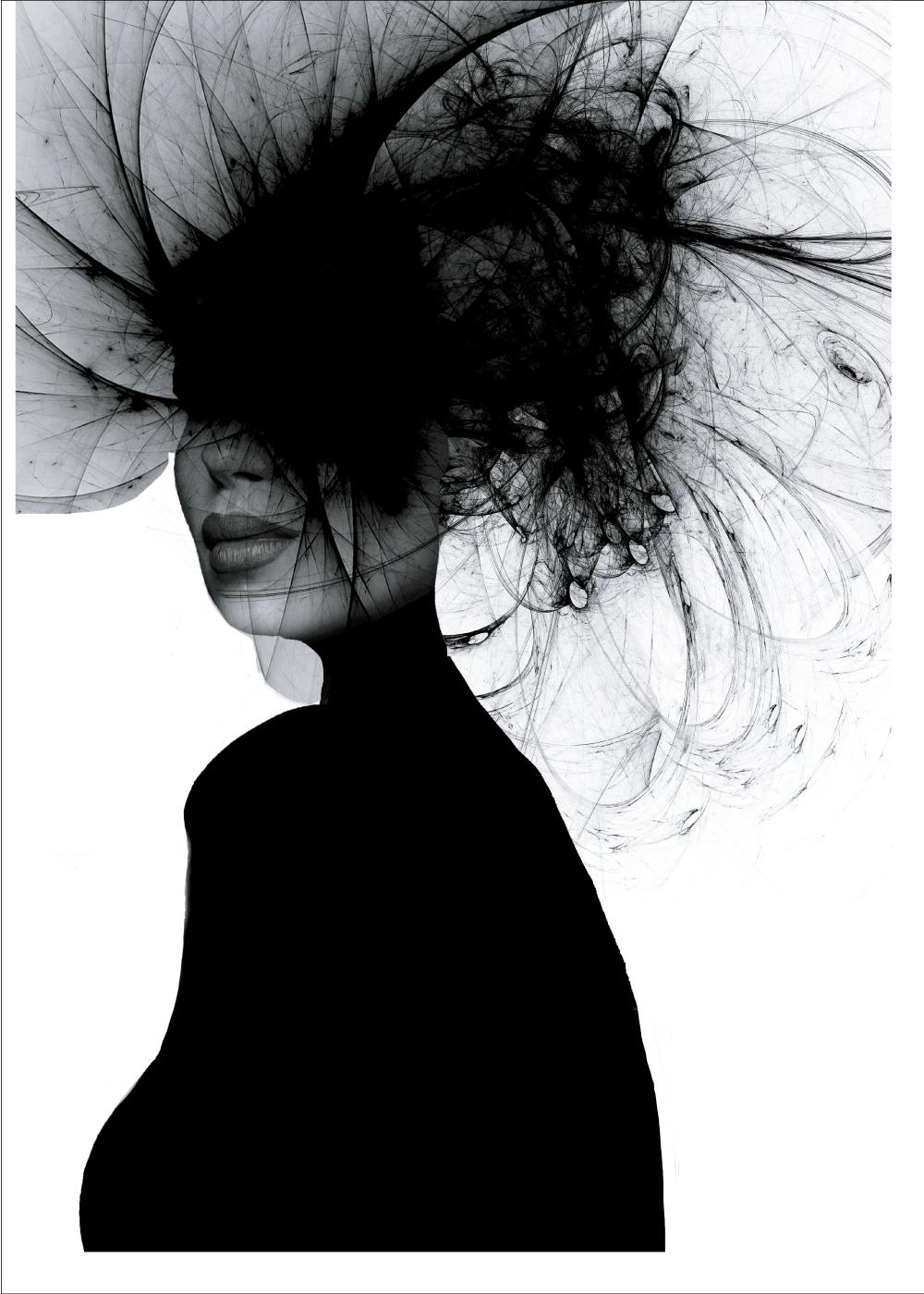 Billede af Black woman plakat