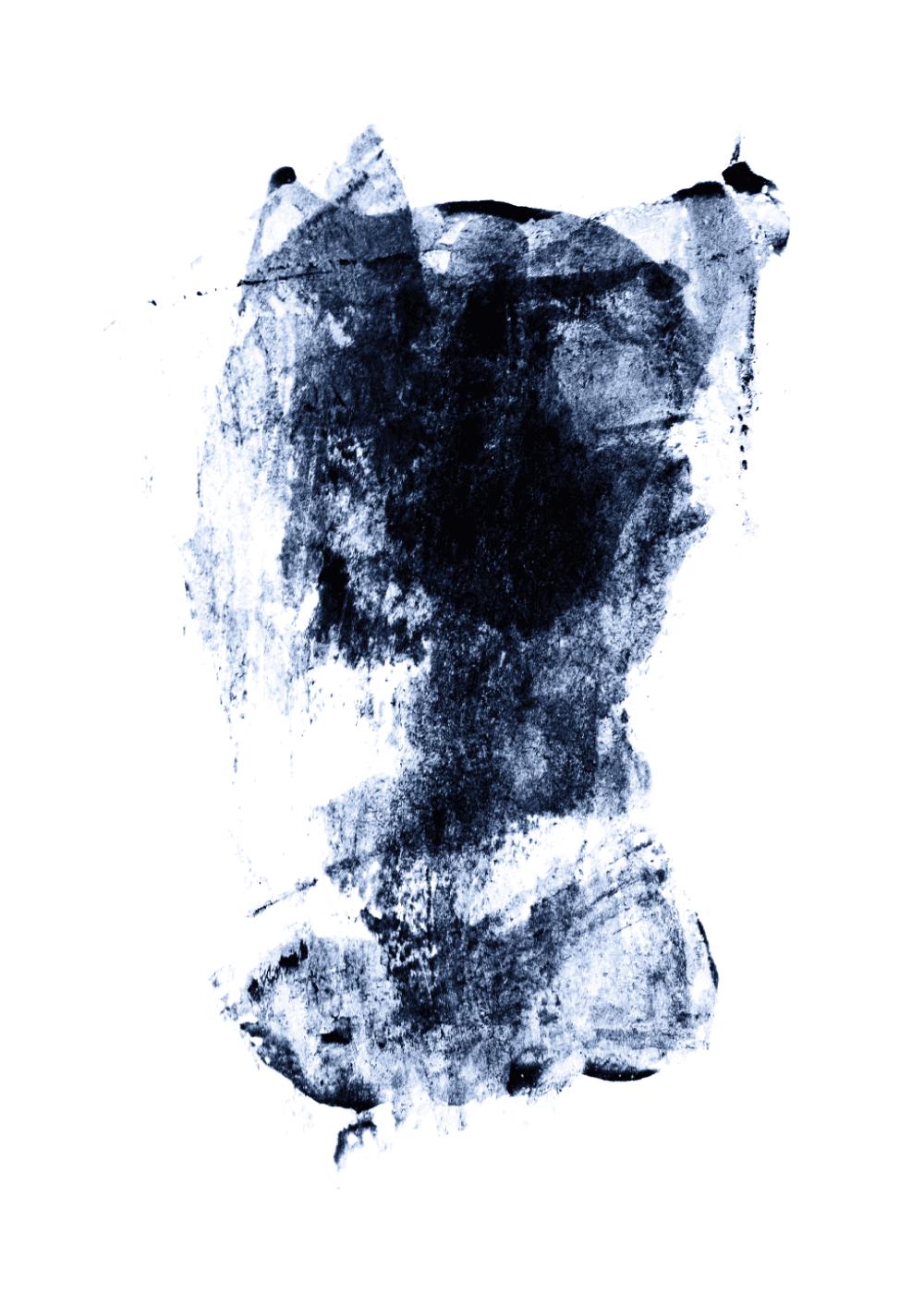 Billede af Abstract painting plakat